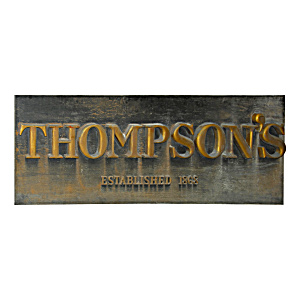 Thompson's Store Sign