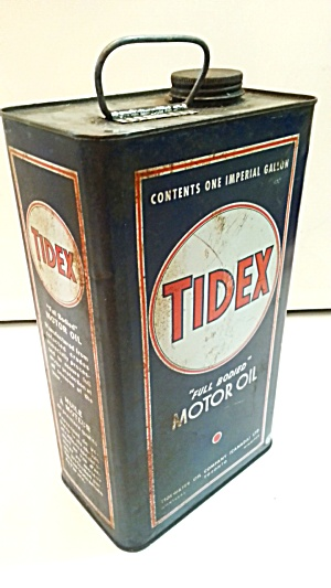 Old Tidex Oil Can
