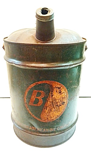 Old B/a Gas Can