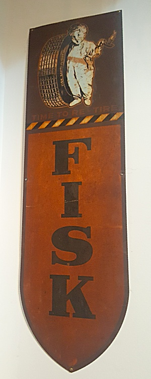 Fisk Tire Sign