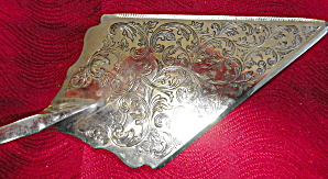 Silverplate Pie Or Cake Server