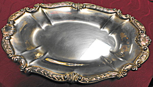 Oval Silverplate Serving Dish