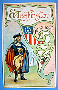 George Washington Postcard (1732-1799)