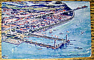 The Great Piers, Jamestown Exposition Postcard