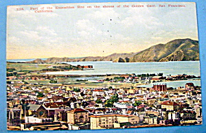 The Golden Gate, Panama Pacific Exposition Postcard