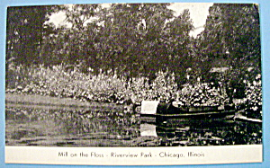 Mill On The Floss - Riverview Park Picture Postcard