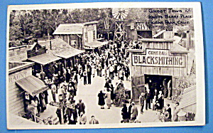 Postcard Of Ghost Town, Knott's Berry Place, Calif.
