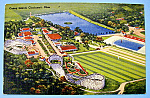 Postcard Of Coney Island, Cincinnati, Ohio