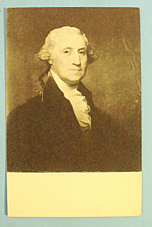 George Washington Postcard (National Gallery Of Art)