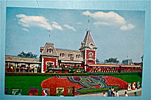 Entrance To Disneyland Postcard