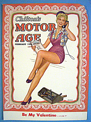 Motor Age Magazine Cover-february 1955-bradley