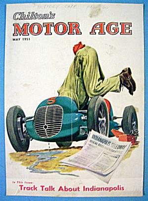 Motor Age Magazine Cover-may 1951-hook