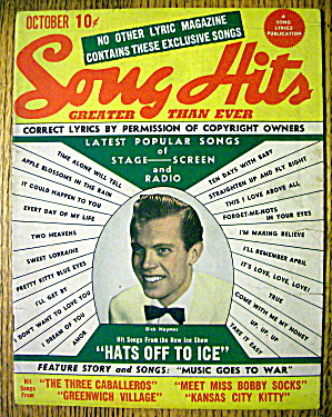 Song Hits Magazine October 1944 Dick Haymes