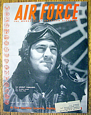 Air Force Magazine August 1953 Sac Aircraft Commander