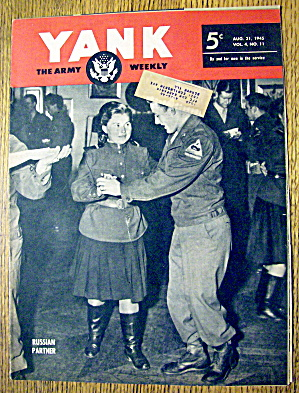 Yank Army Weekly Magazine August 31, 1945