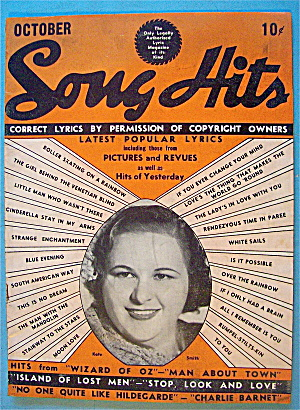 Song Hits October 1939 Kate Smith