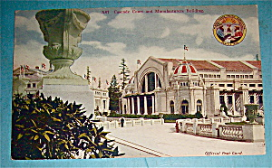 Cascade Court And Manufacturers Building Postcard