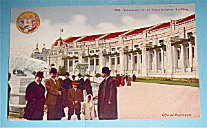 Colonnade Of The Manufacturers Building Postcard