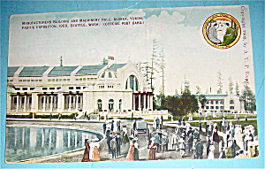Manufacturers Building & Machinery Hall Postcard