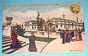 Hawaii And Oriental Foreign Exhibit Buildings Postcard