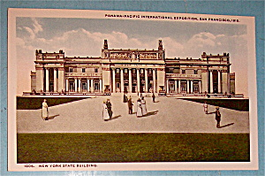 New York State Building Postcard (Panama Pacific Expo)