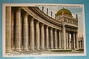 Colonnade In Court Of The Universe Postcard