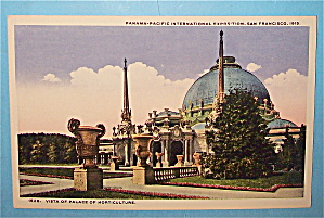 Vista Of Palace Of Horticulture Postcard (Pan Pac Expo)