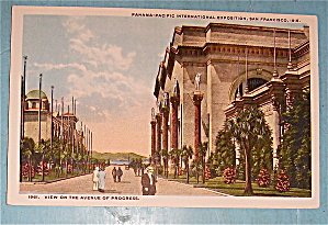 View On The Avenue Of Progress Postcard