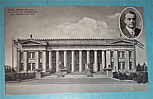 Ohio State House Postcard (Panama Pacific Intl Expo)