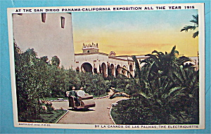 By La Canada De Las Palmas: The Electriquette Postcard