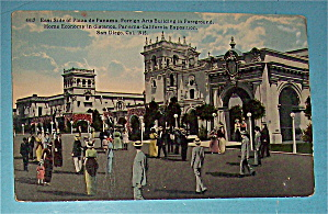 East Side Of Plaza De Panama Postcard