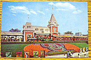 Entrance To Magic Kingdom Postcard