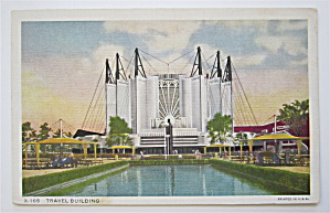 Travel & Transport Building Postcard-chicago World Fair