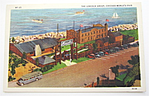 The Lincoln Group Postcard, Chicago World Fair
