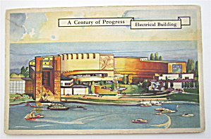 Electrical Building Postcard (1933 Century Of Progress)