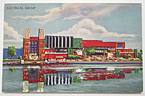 Electrical Group, Chicago's 1933 Expo Postcard