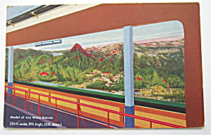 Model Of The Nikko District, 1933 Chicago Expo Postcard