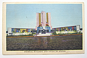 Federal Building And Court Of States Postcard