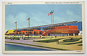 Agricultural Building, Chicago World's Fair Postcard
