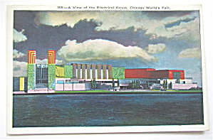 View Of The Electrical Group, Chicago Fair Postcard