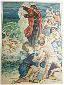 1890's Moses Parts The Red Sea
