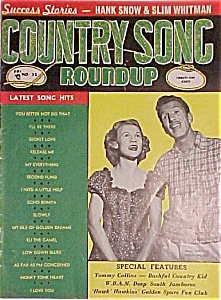 Country Song Roundup - June 1954 - Jean Shepard/ferlin