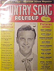 Country Song Roundup - Dec. 1952 - Eddy Arnold Cover