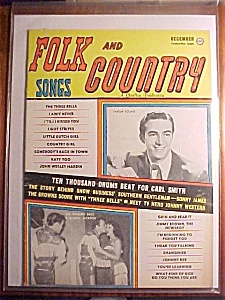 Folk And Country Songs Magazine - December 1959