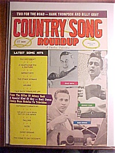 Country Song Roundup Magazine - November 1963