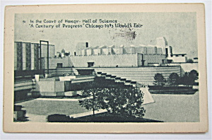 The Court Of Honor, Century Of Progress Postcard