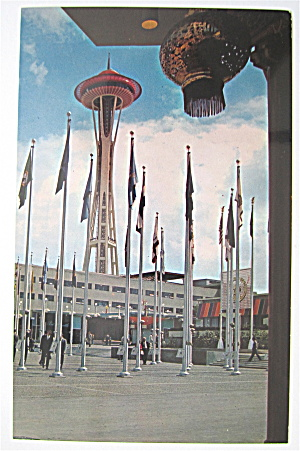 Plaza Of States, Seattle World's Fair Postcard