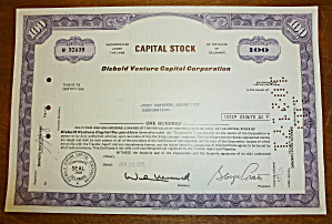 1971 Capital Stock Certificate