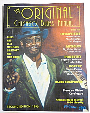 Original Chicago Blues Annual 1990 Pinetop Perkins