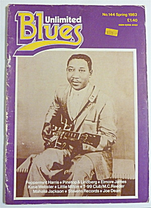 Blues Unlimited Magazine Spring 1983 Muddy Waters